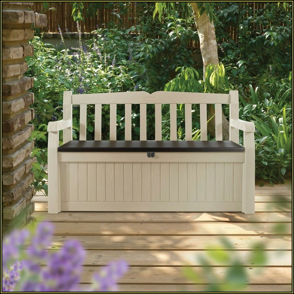 Keter Patio Storage Bench
