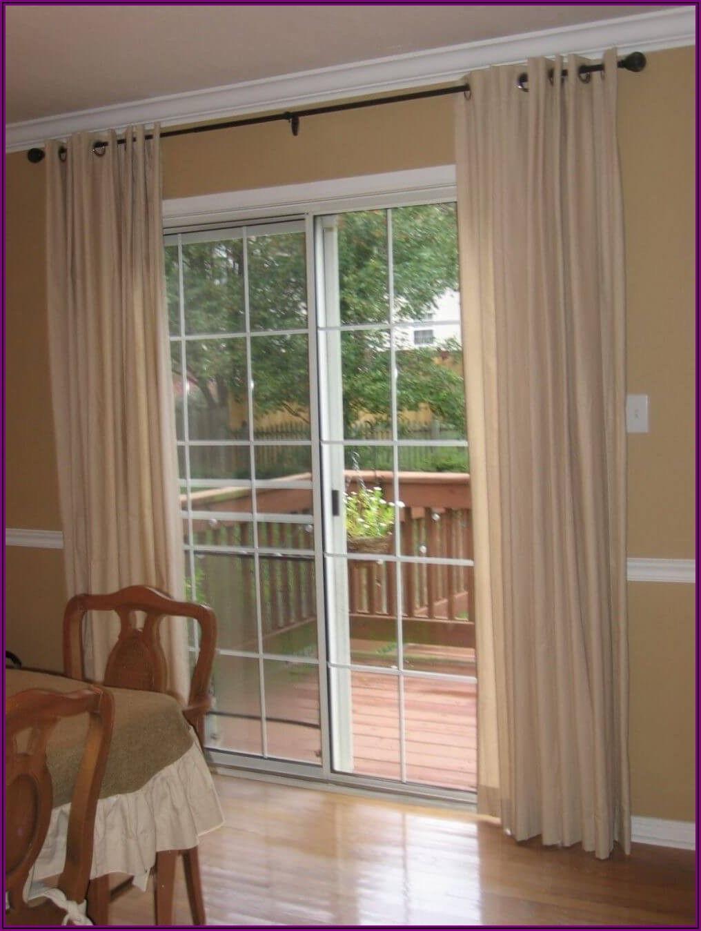 Kitchen Sliding Glass Patio Door Curtain Ideas