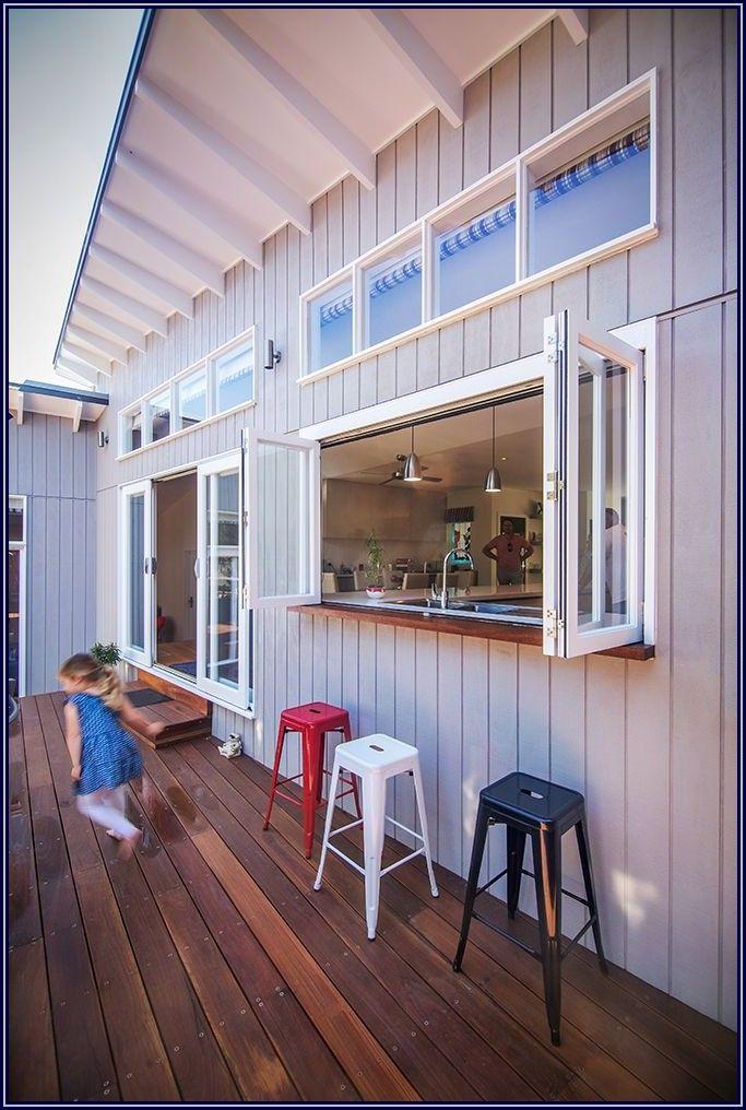 Kitchen To Patio Pass Through Window