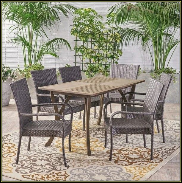 Kohlmeier 7 Piece Patio Dining Set