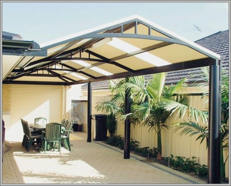 L Shaped Patio Cover Ideas