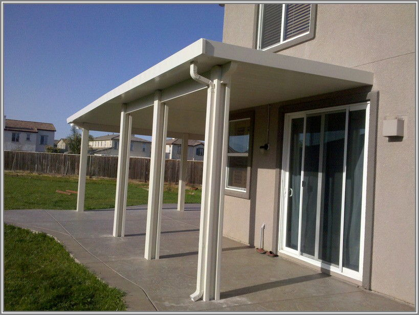 L Shaped Patio Cover