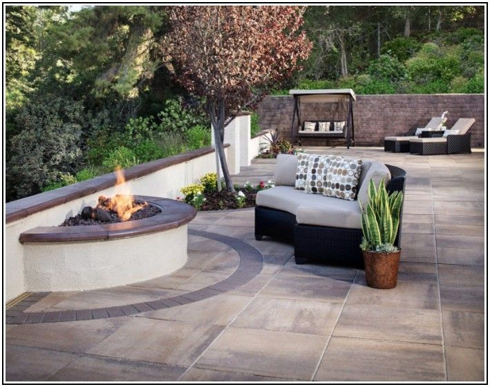 Large Concrete Paver Patio Ideas