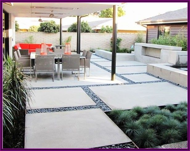 Large Concrete Slabs For Patio