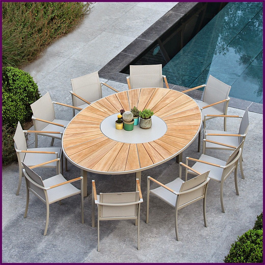 Large Outdoor Patio Dining Table