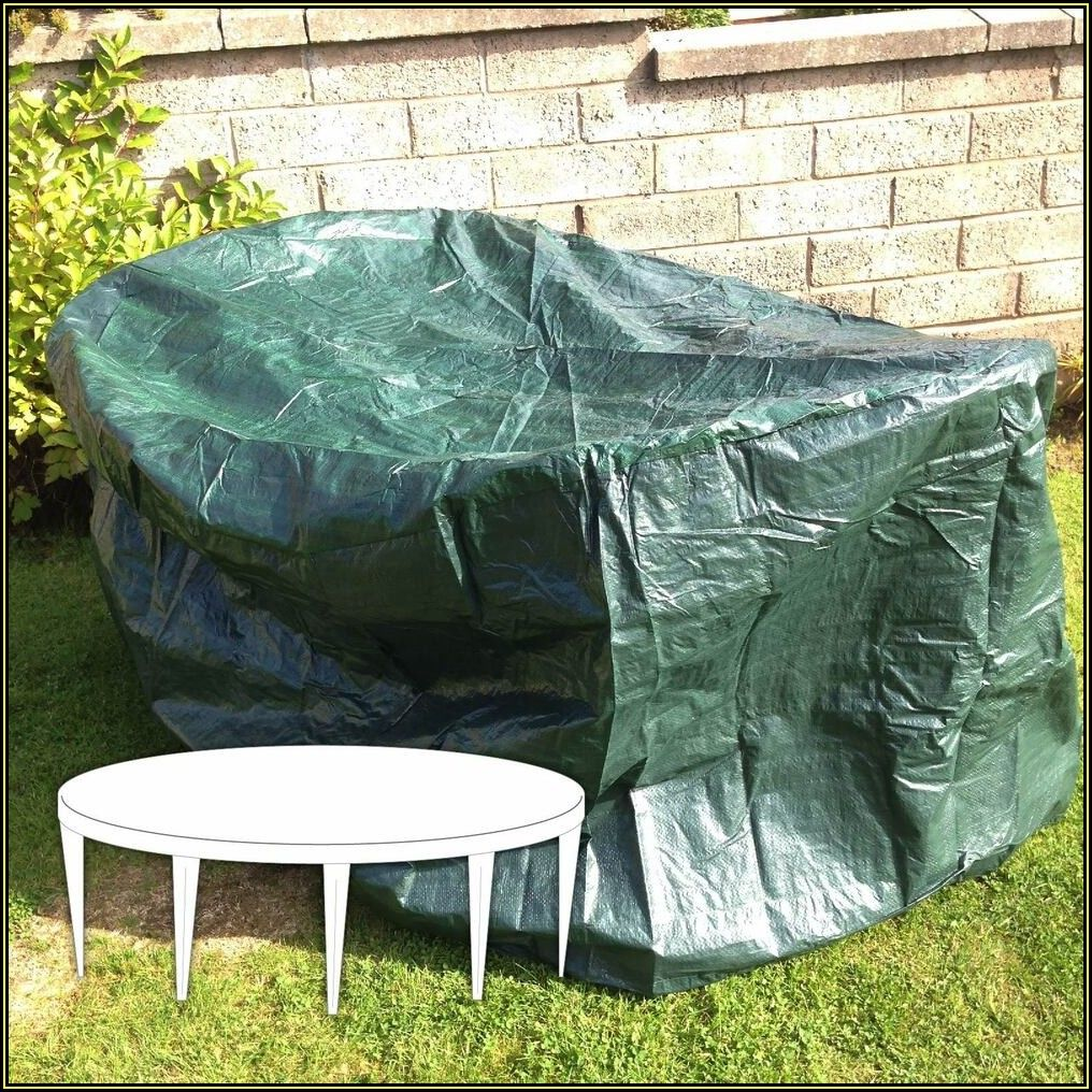 Large Round Patio Table Cover