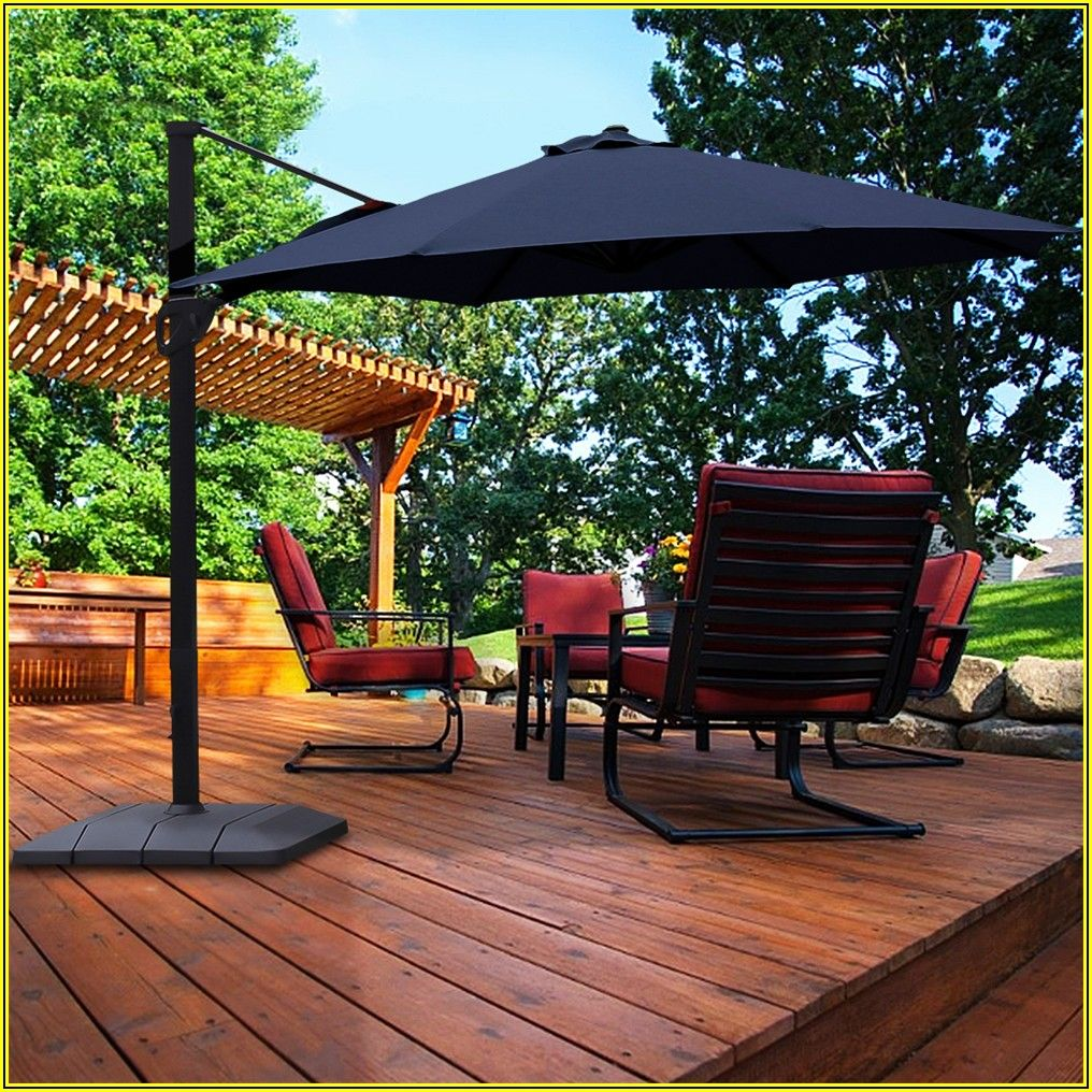 Large Windproof Patio Umbrellas