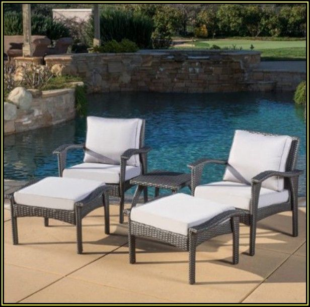 Light Grey Wicker Patio Furniture