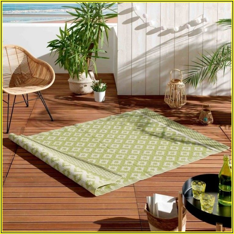 Lime Green Patio Rugs