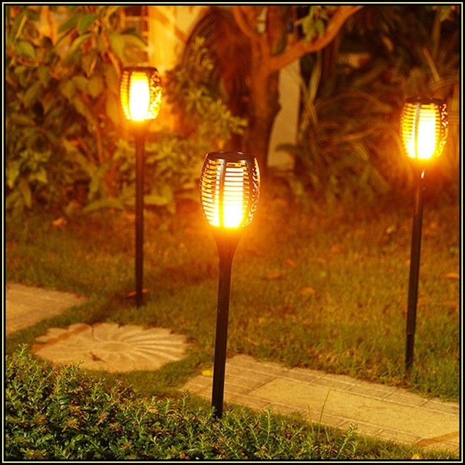Luces Solares Para Patio Home Depot