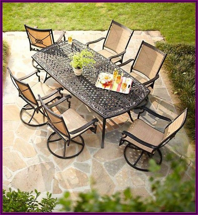 Martha Stewart 7 Piece Patio Set