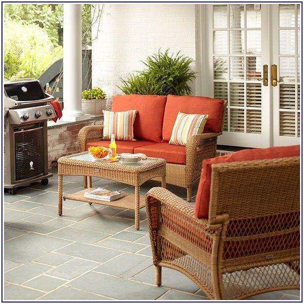 Martha Stewart Living Charlottetown Wicker Patio Furniture