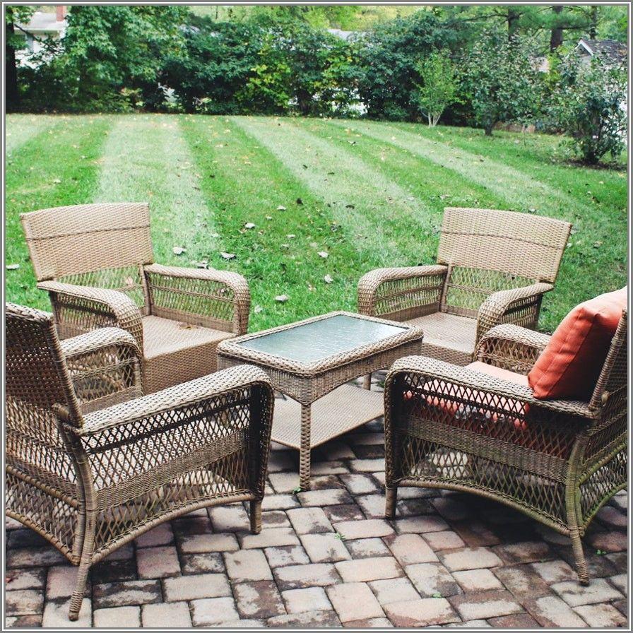 Martha Stewart Living Swivel Patio Chairs