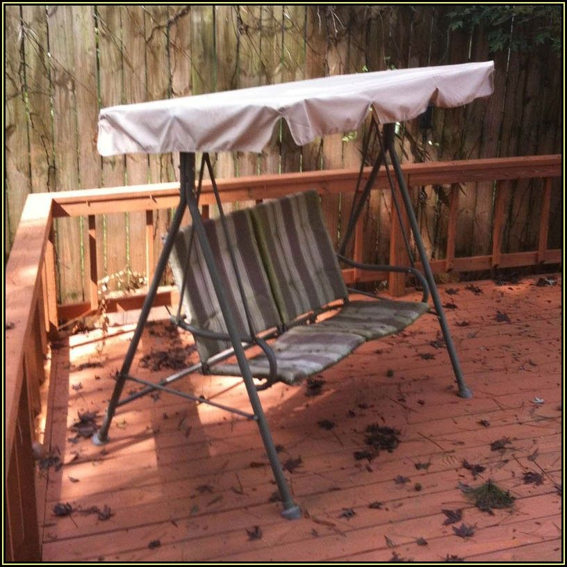 Martha Stewart Patio Swing Canopy Replacement