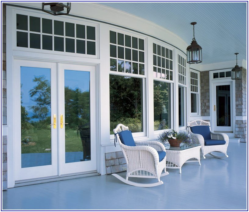 Marvin Outswing Patio Doors