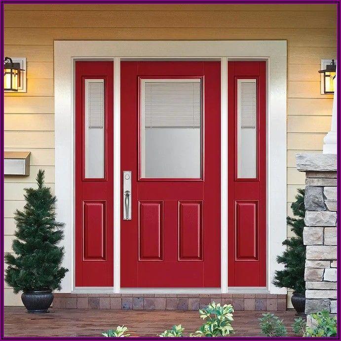 Masonite Patio Doors With Mini Blinds
