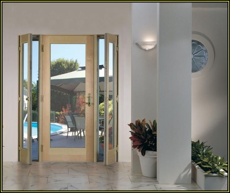 Masonite Venting Sidelite Patio Doors