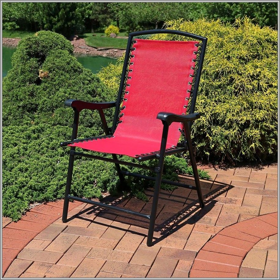 Mesh Folding Patio Chairs