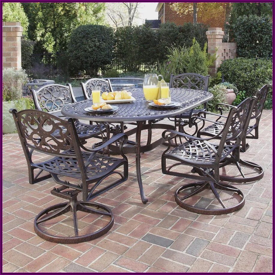 Metal Aluminum Patio Furniture