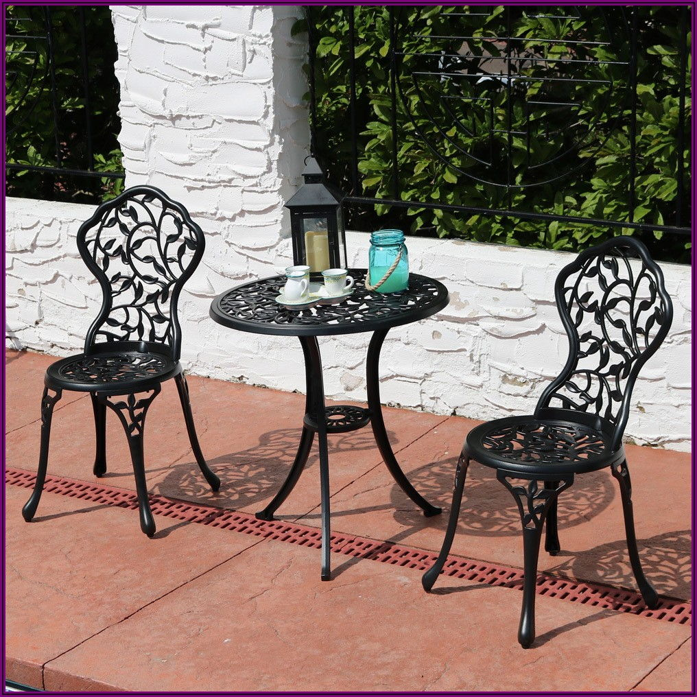 Metal Patio Bistro Table And Chairs