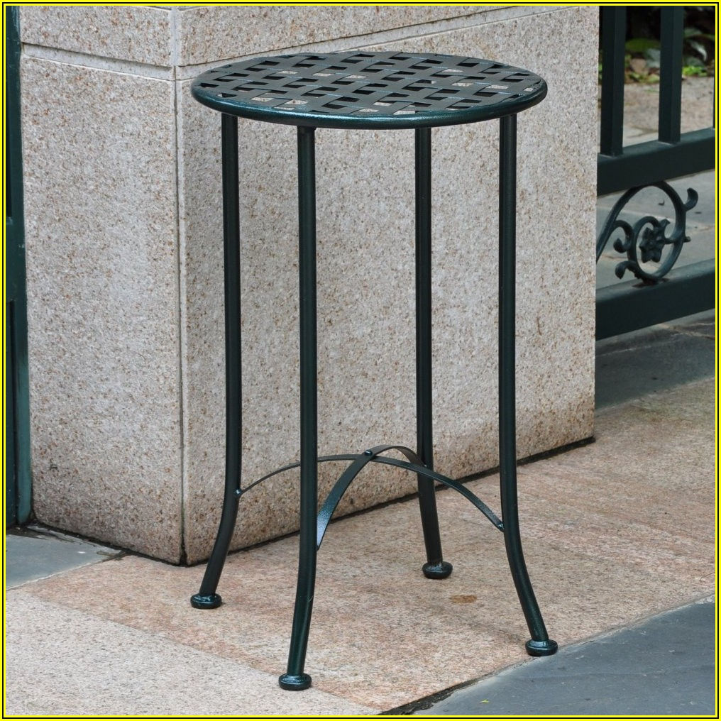 Metal Patio End Tables