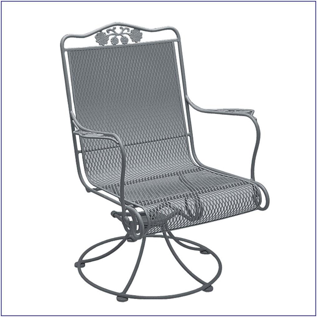 Metal Swivel Rocking Patio Chairs