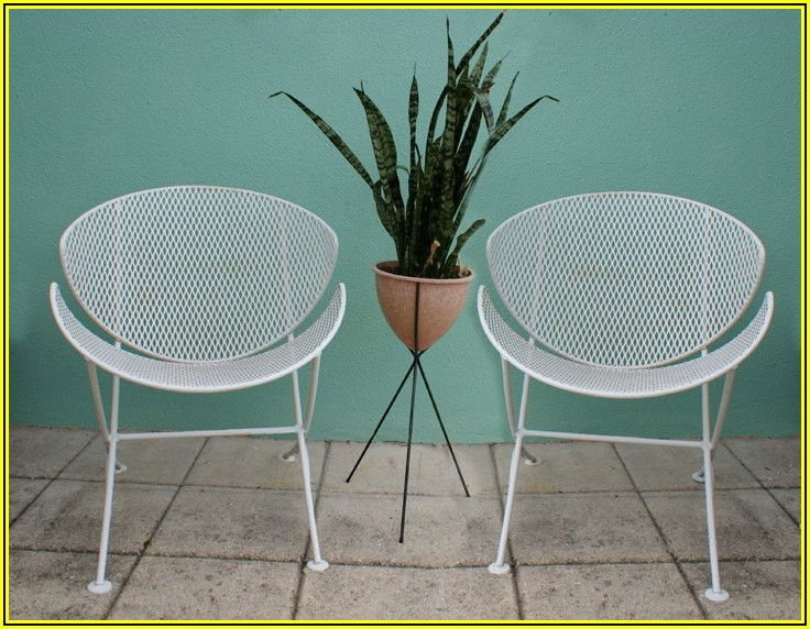 Mid Century Modern Patio Chairs