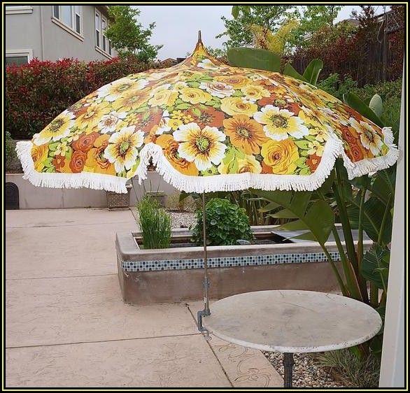 Mid Century Modern Patio Umbrella