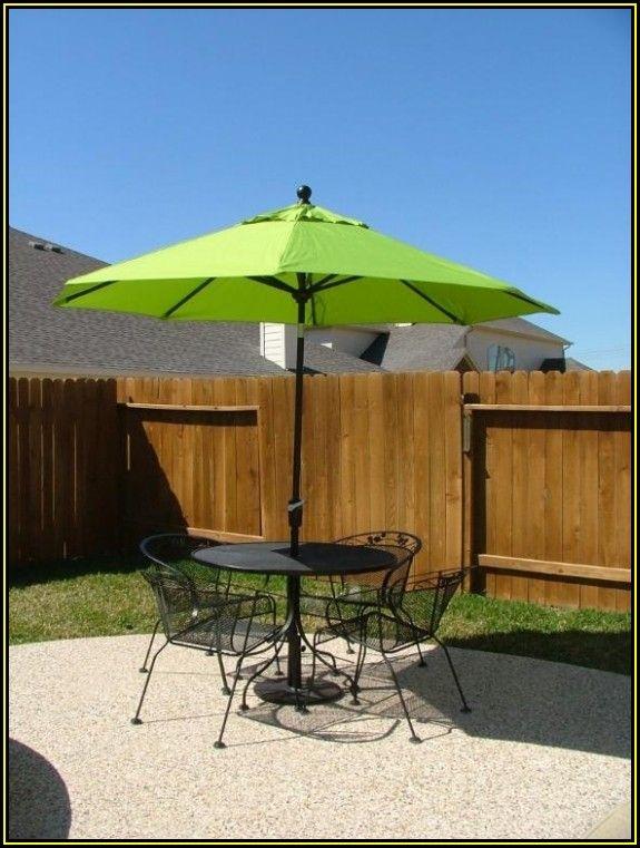 Mint Green Patio Umbrella