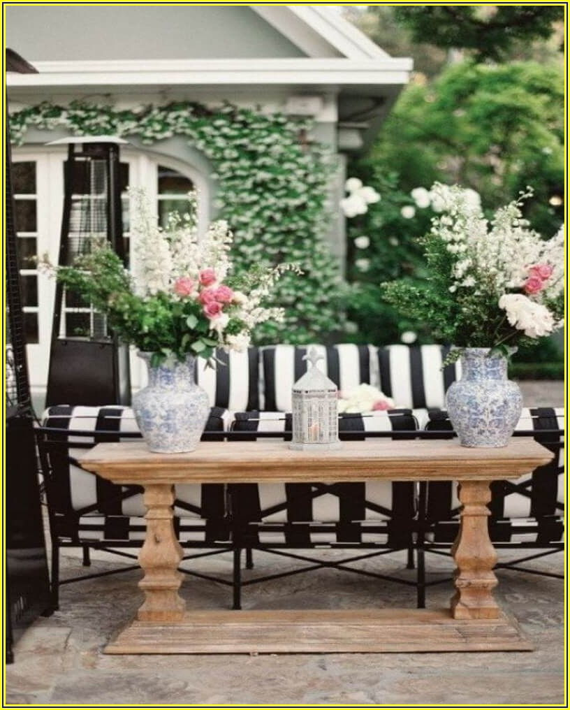 Modern Black And White Patio Furniture