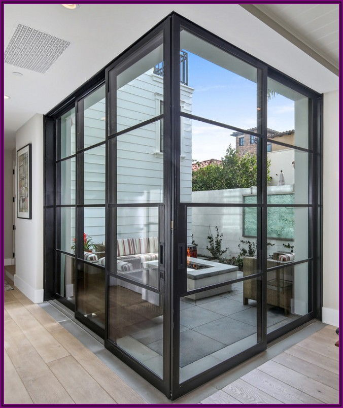 Modern Sliding Doors Patio