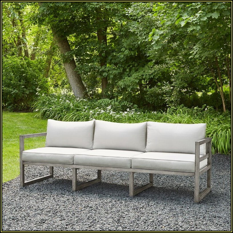 Monaco Patio Sofa With Cushions