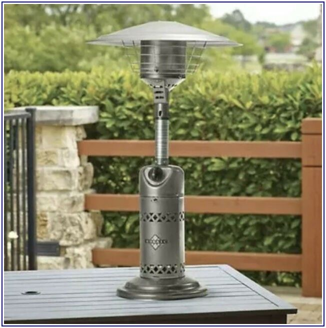 Mosaic Stainless Steel Propane Patio Heater