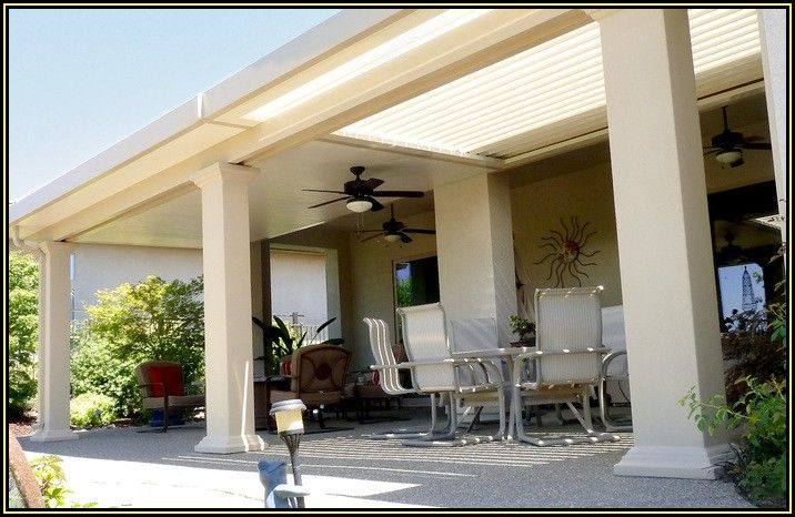 Motorized Louvered Patio Covers