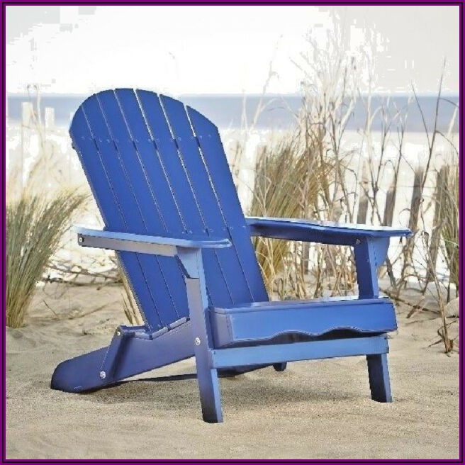 Navy Blue Stackable Patio Chairs