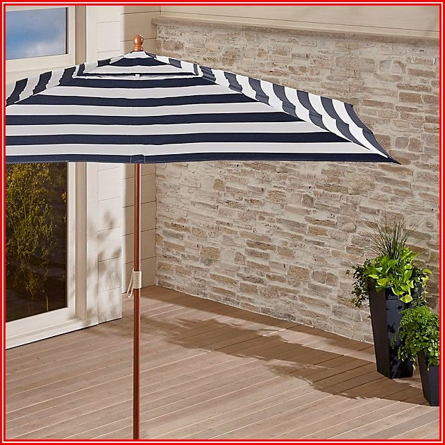 Navy Sunbrella Patio Umbrella