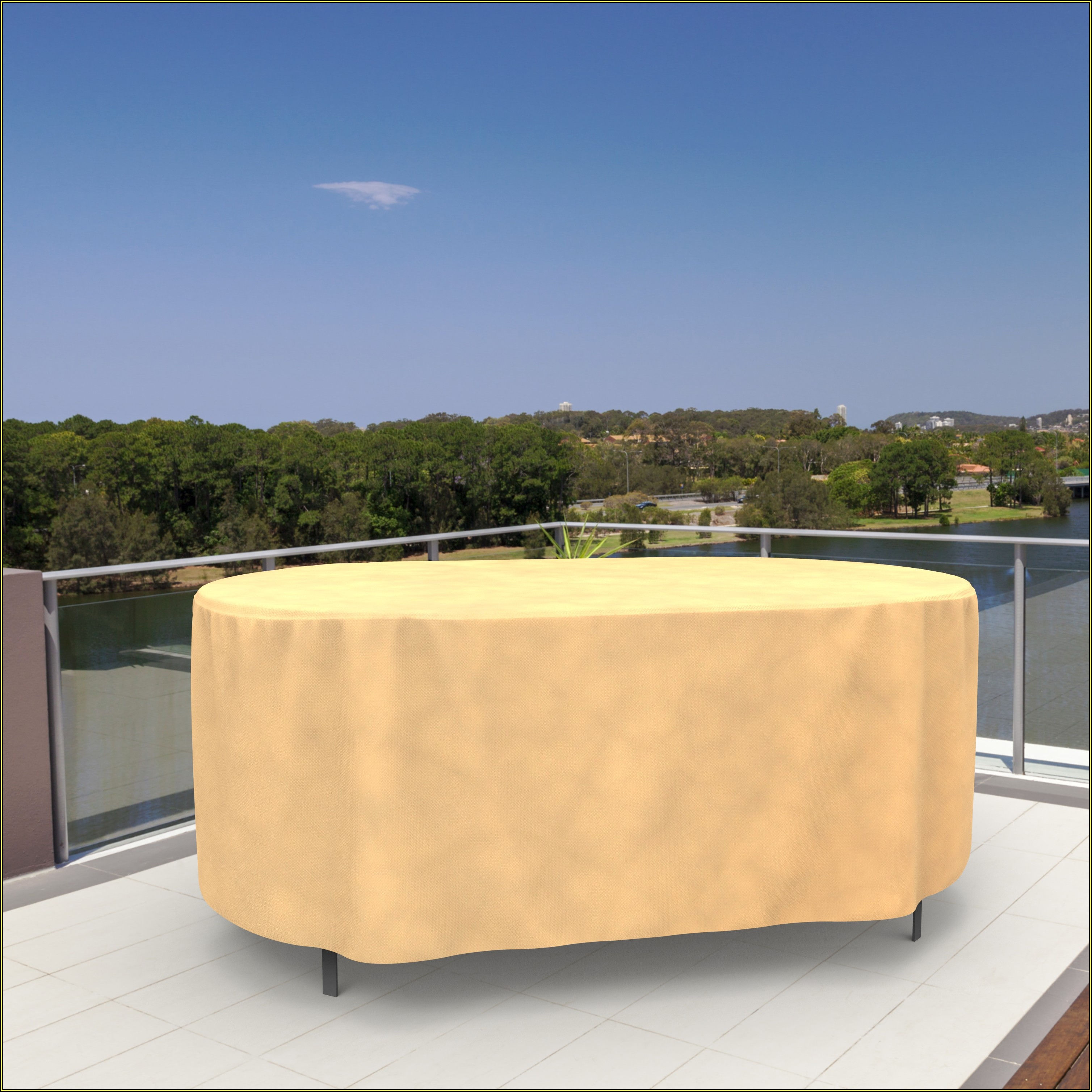 Oblong Patio Table Cover