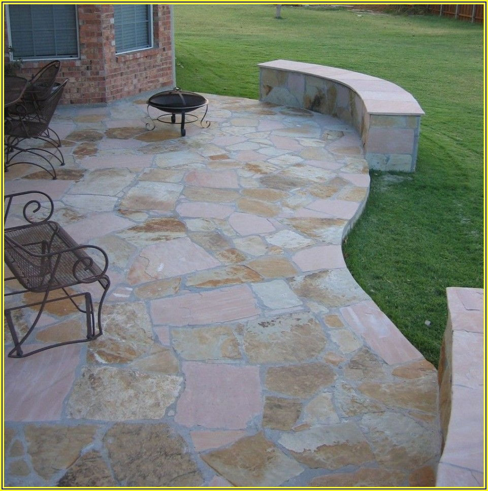 Outdoor Concrete Patio Flooring