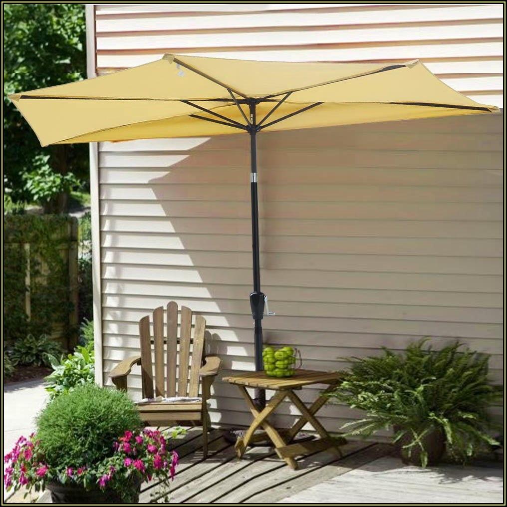Outdoor Half Patio Umbrella