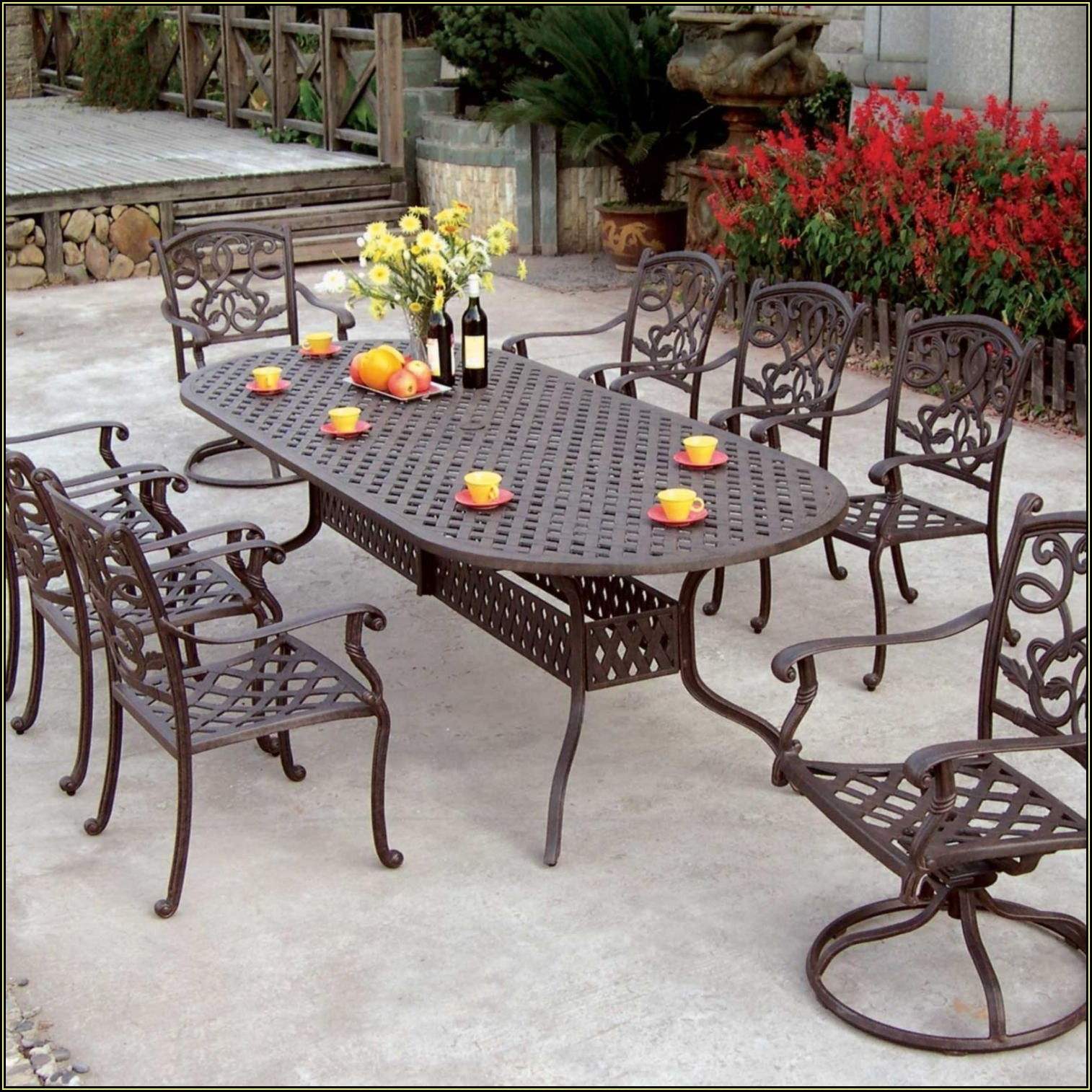 Outdoor Metal Patio Dining Sets