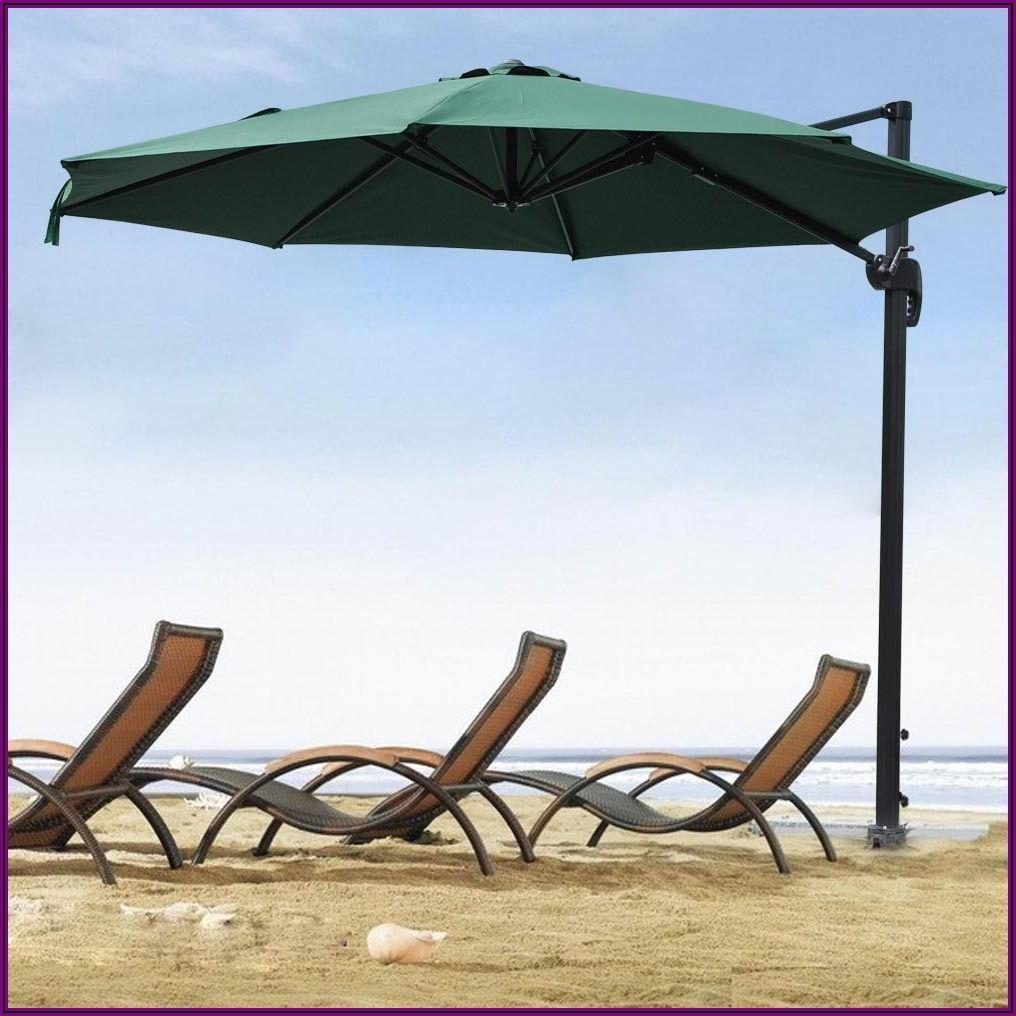 Outdoor Offset Patio Umbrella