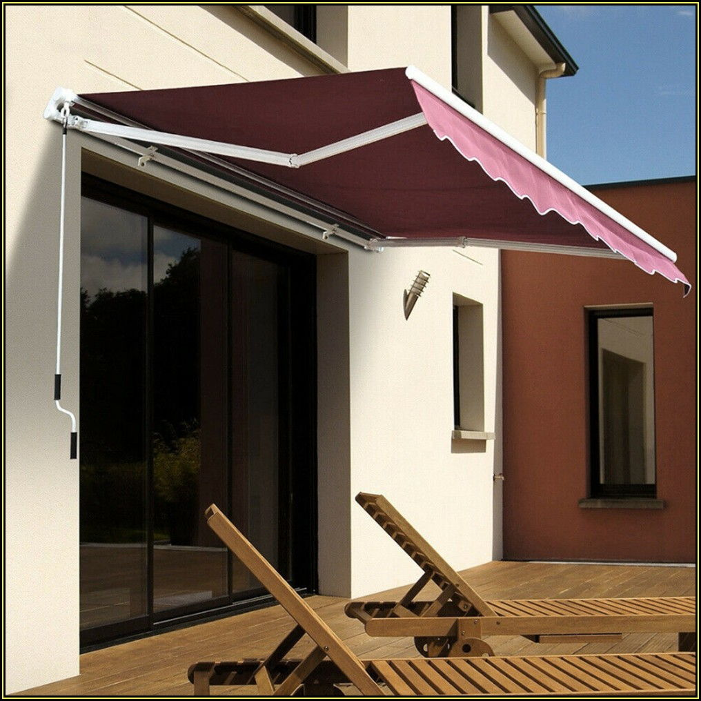Outdoor Patio Awning Shade