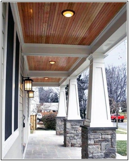 Outdoor Patio Ceiling Materials