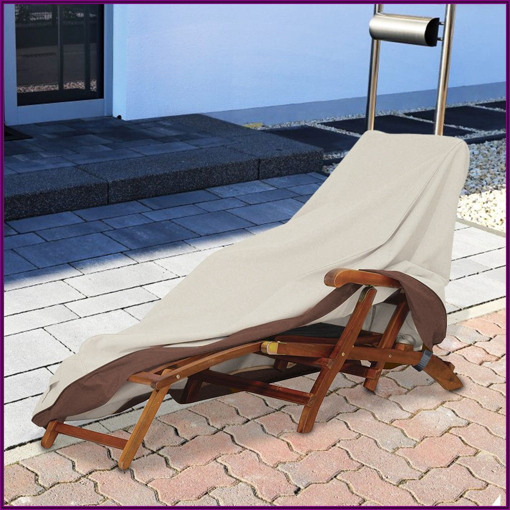 Outdoor Patio Chaise Lounge Cover