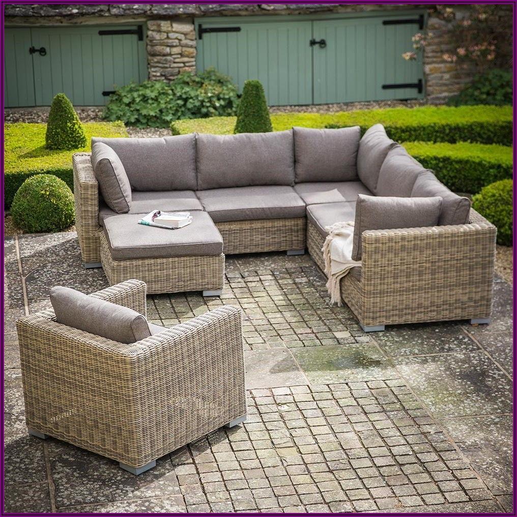 Outdoor Patio Corner Sofa