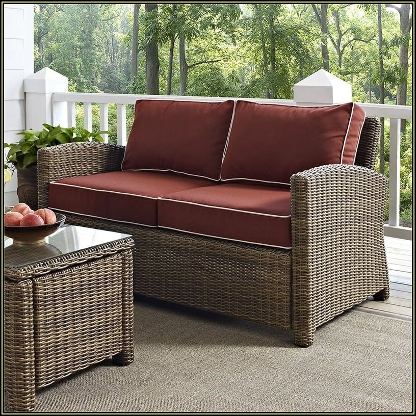 Outdoor Patio Cushions Loveseat
