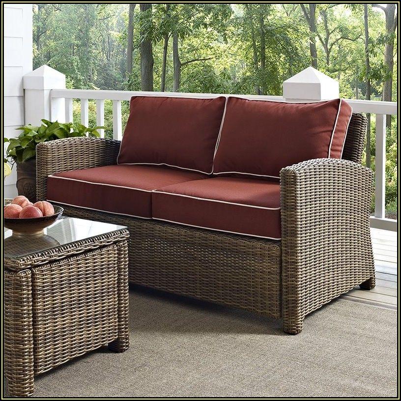 Outdoor Patio Cushions Loveseat