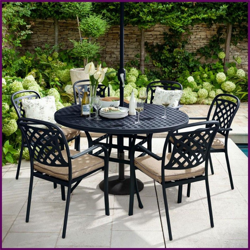 Outdoor Patio Dining Set For 6