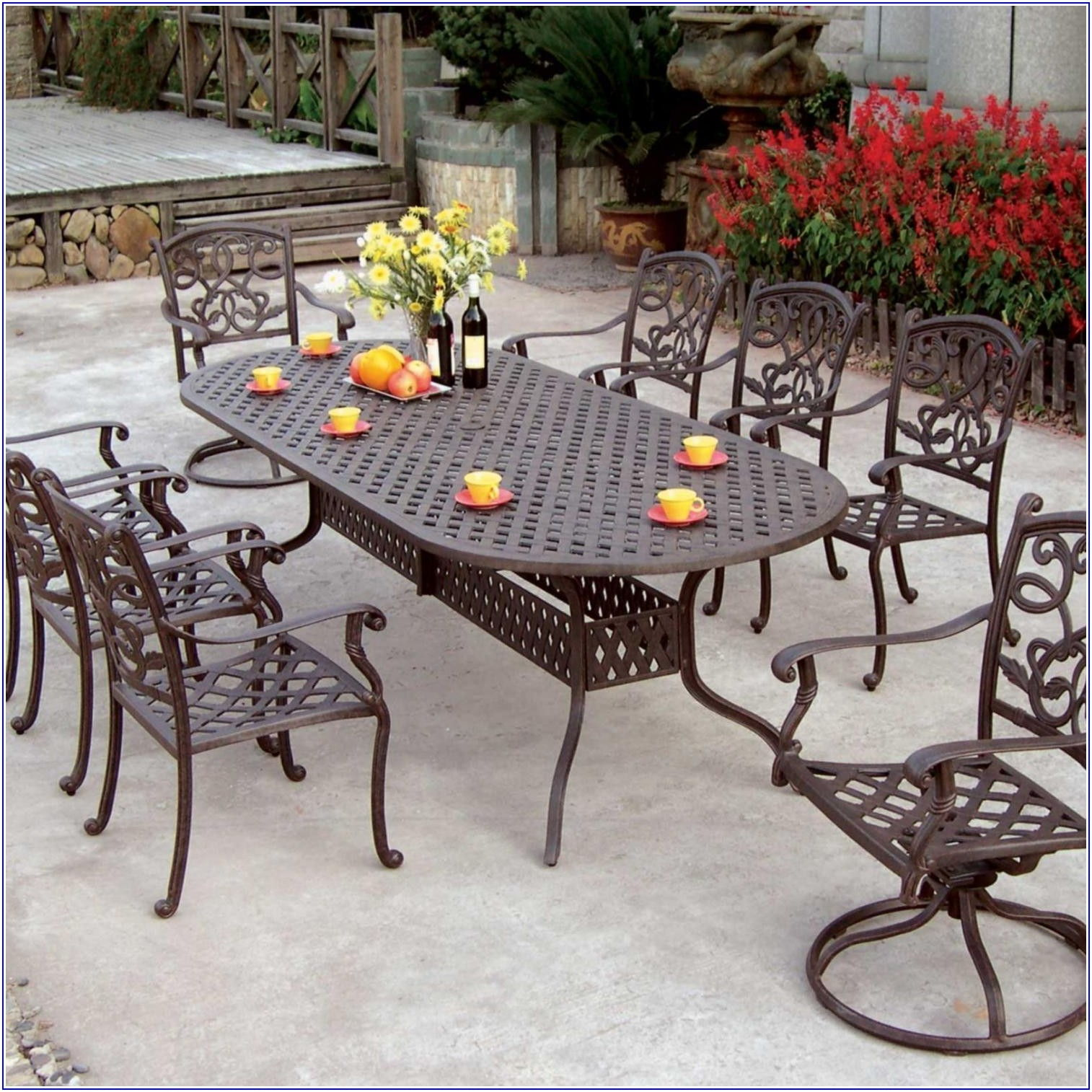 Outdoor Patio Dining Set For 8