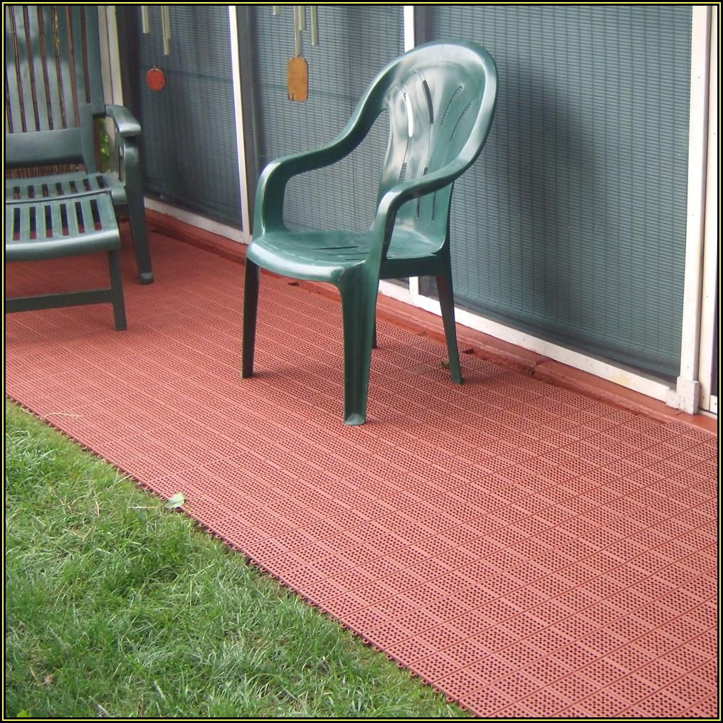 Outdoor Patio Flooring Home Depot
